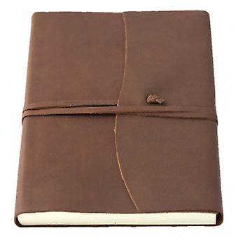 Coles Pen Company Amalfi Medium Journal - Chocolate Brown