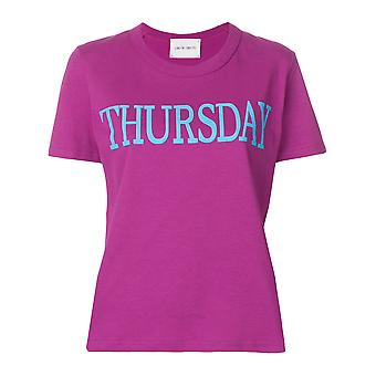Alberta Ferretti women V70116900261 Fuchsia cotton T-Shirt