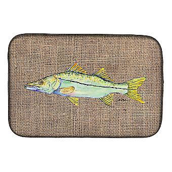 Carolines tesori 8772DDM pesce - Snook piatto essiccazione Mat