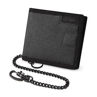 Pacsafe RFIDsafe Z100 Bi-Fold Wallet - Charcoal