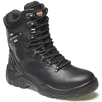 Dickies Mens Workwear Quebec Unlined Super Safety Boot Black FD23376B