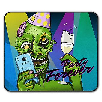 Party Forever  Non-Slip Mouse Mat Pad 24cm x 20cm | Wellcoda