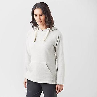 Nieuwe één aarde vrouwen Kangaroo Pocket Hooded Sweatshirt grijs