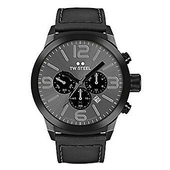 TW stål mænds ur Chrono Marc Coblen Edition TWMC18 wrist watch læder band