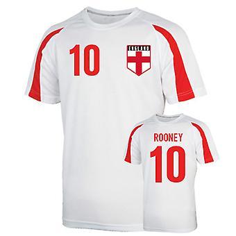 Angleterre maillot de formation sport (rooney 10) - enfants