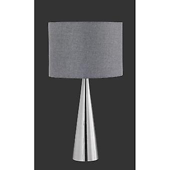 Trio Lighting Cosinus Modern Nickel Matt Metal Table Lamp