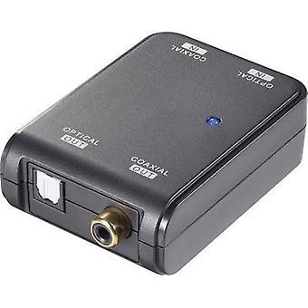 Convertidor de AV [Toslink, RCA - Toslink, RCA Digital] bidireccional (bi) SpeaKa profesional SP-ADDK-BDI
