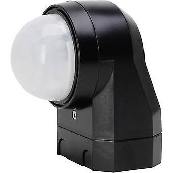 Kopp 824605012 Wall, Surface-mount PIR motion detector 240 ° Relay Black IP54