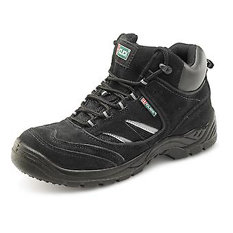 Click Dual Density Safety Trainer Boot Black. S1P Src - Cddtbb