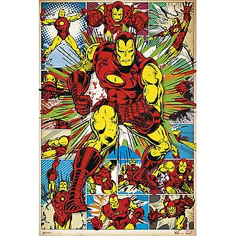 Marvel Iron Man Comic Clasic Poster Poster Print