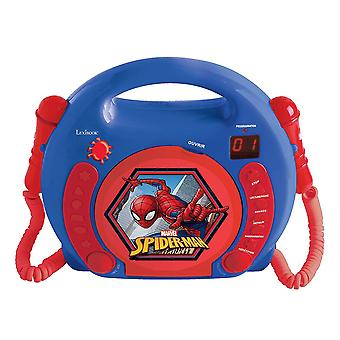 Lexibook RCDK100SP Spider-Man Children's Portable CD Player with Microphone