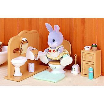 Les familles sylvanian Set de toilette
