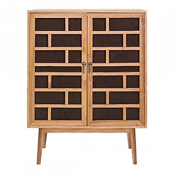 Moderne en bois armoire armoire avec 2 portes-Mobile Re4805-Rebecca