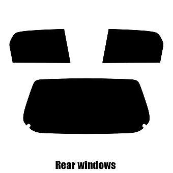 Pre cut window tint - Suzuki Alto 5-door Hatchback - 2002 to 2006 - Rear windows