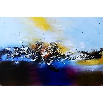 90 cm - 油彩画キャンバス x 60