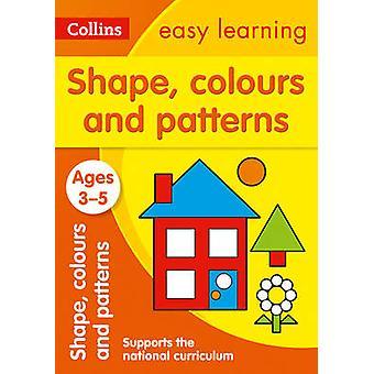 Figurer - farger og mønstre alder 3-5 (ny versjon) av Collins lett