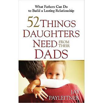 52 Dinge Töchter müssen aus ihrer Väter - was können Väter tun, um Buil