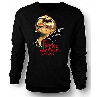 Womens Sweatshirt Fear And Loathing Bats - Funny