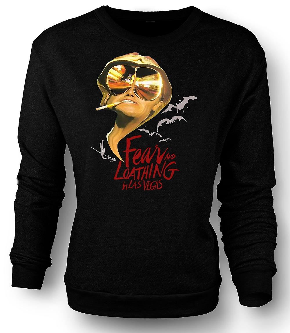 Mens Sweatshirt Fear And Loathing Bats - Funny