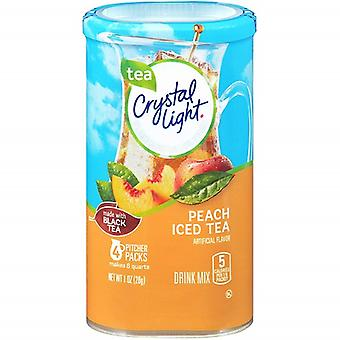 Crystal Light Peach Iced Tea Drink Mix Pitcher Packs