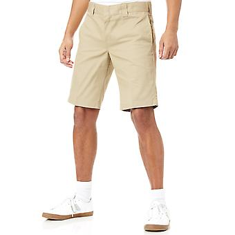 Dickies Khaki Slim Straight - 11 Inch Workshorts