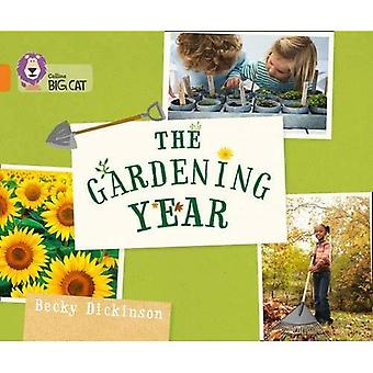 Collins Big Cat - Gartenarbeit-Jahr: Band 06/Orange