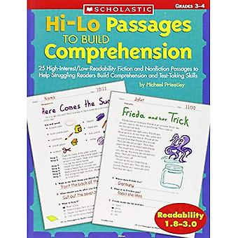 Hi-Lo Passages to Build Comprehension: Grades 3-4