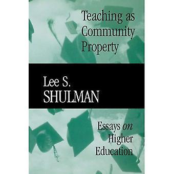 Lehre als gemeinschaftliches Eigentum: Essays on Higher Education (Jossey-Bass/Carnegie-Stiftung...