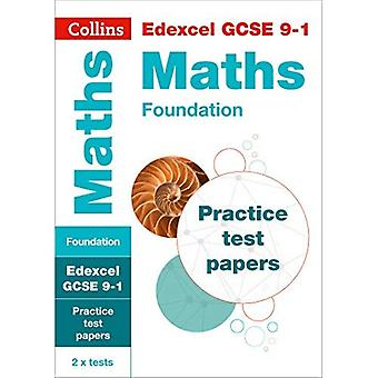 EDEXCEL GCSE Mathematik 9-1 Stiftung Praxis Testpapiere (Collins GCSE 9-1 Revision) (Collins GCSE 9-1 Revision)