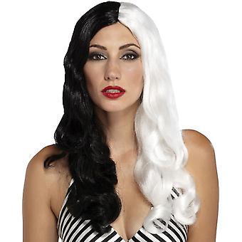 Sinestress Black White Wig For Women