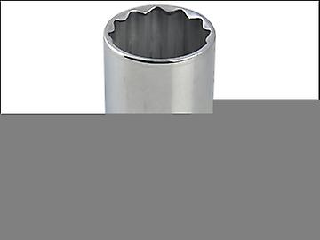 Britool Bi-Hexagon Deep Socket 1/2in Drive 18mm