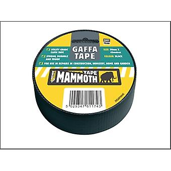 Everbuild Gaffatape Tape zwart 50 mm x 45 m
