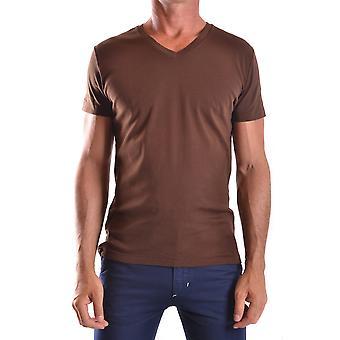 Ralph Lauren Brown Cotton T-shirt