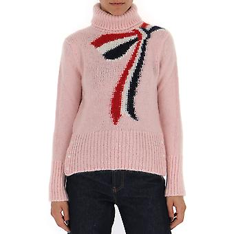 Thom Browne Pink Cashmere Sweater