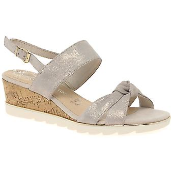 Marco Tozzi Burton Womens Wedge Heel Sandals