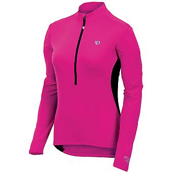 Pearl Izumi Pink Punch Select Womens Long Sleeved Cycling Jersey