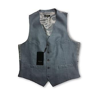 Holland Esquire waistcoat in blue