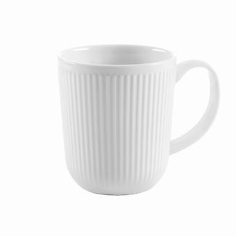 Bodum Duoro - 2 Piece Coffee Mug - Porcelain - White - 0.35 l, 12 oz