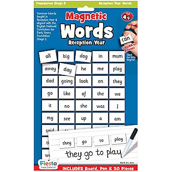 Fiesta Crafts Magnetic First Words