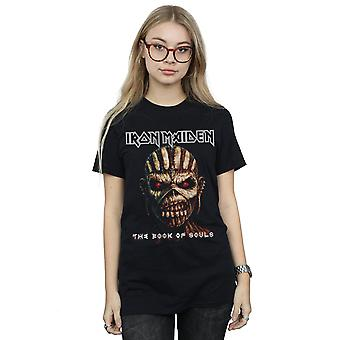 Iron Maiden Women's The Book Of Souls Boyfriend Fit T-Shirt