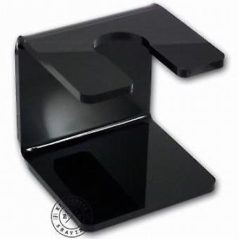 Executive Shaving Company Black Acrylic Shaving Brush Stand