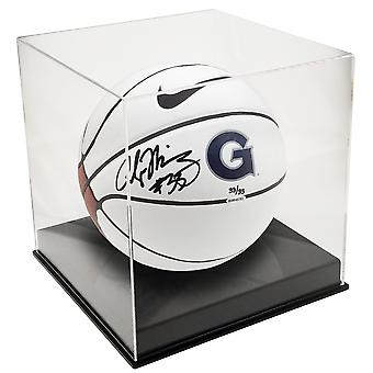 OnDisplay Deluxe UV-Protected Basketball/Soccer Ball Display Case - Black Base