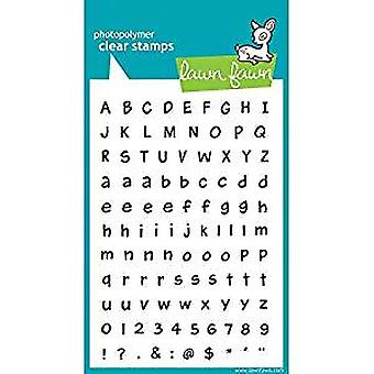 Lawn Fawn Clear Stamps Harold's ABCs (LF317)