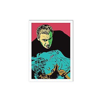 Konst-affisch-skrämmande älskare-Vee Ladwa 50 x 70 cm