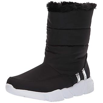 Steve Madden Womens Snowday Fermé Toe Mid-Calf Cold Weather Boots