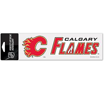 Wincraft Aufkleber 8x25cm - NHL Calgary Flames