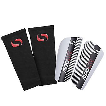 Sondico Unisex Aerolite S G 00 Slip In Shin Pads Shinpads Shinguards Protector