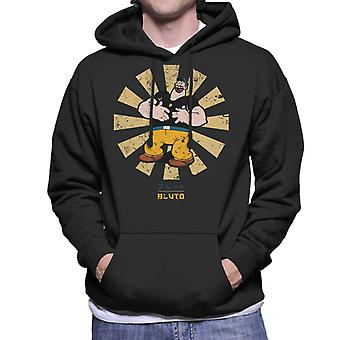 Bluto Retro Japanese Popeye Men's Hooded Sweatshirt