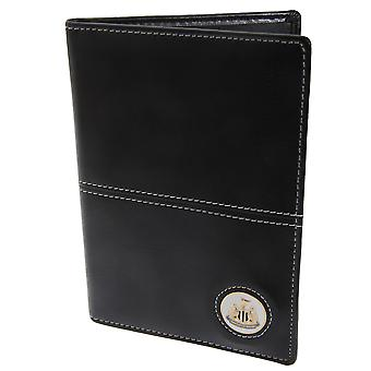 Newcastle United FC Official Faux Leather Football Crest Golf Scorecard Holder