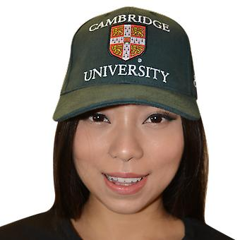 Licenciado cambridge university™ gorra de béisbol botella de color verde
